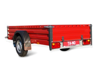 Flat bed trailer ECO 20