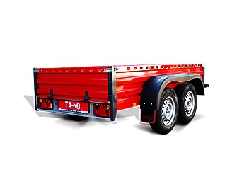 Flat bed trailer ECO 2.25